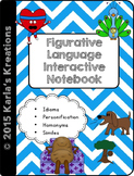 Figurative Language Interactive Notebook 3rd Grade