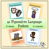 Figurative Language Posters - 42 posters