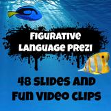 Figurative Language Prezi including handout