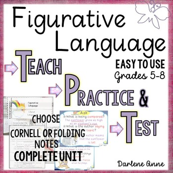 Figurative Language: Teach, Practice, Test