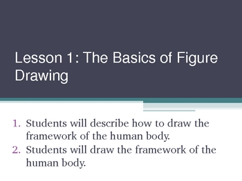 Figure Drawing PowerPoint - Lesson 1 Drawing the Structure