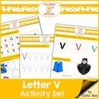File Folder - V - Activity Set