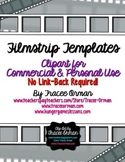 Filmstrip Clip Art & Printable Pages No Link Required