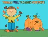 """Finally Fall"" Literacy Centers"