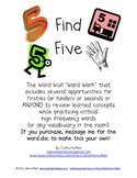 Find Five