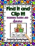 Find It and Clip It - Beginning Blends and Digraphs
