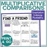 Find Someone Who - 4.OA.A.1 - Multiplicative Comparison -