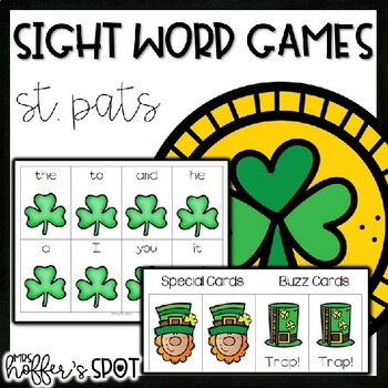 Find the Leprechaun {Sight Word Game}