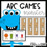 Find the Monster {ABC Game}