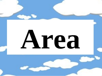 Finding Area PowerPoint Presentation