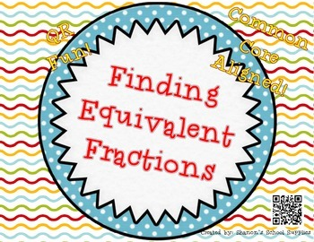 https://www.teacherspayteachers.com/Product/Finding-Equivalent-Fractions-QR-Task-Cards-1331528