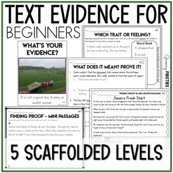 Finding Proof - Citing Evidence - Making Inferences - Using Context Clues