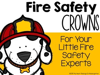 Fire Safety Crowns FREEBIE