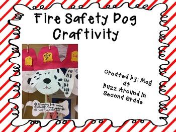 Fire Safety Dog Craftivity