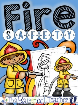 Fire Safety Puzzles FREEBIE!