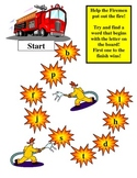 Firemen to the rescue beginning letter sounds
