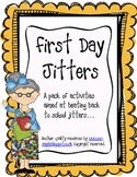 First Day Jitters - Bumper Back to School Activity Pack