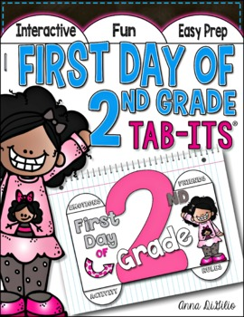 First Day of 2nd Grade Tab-Its