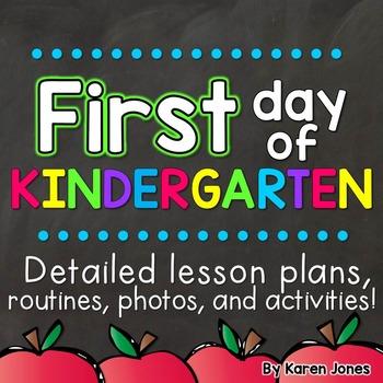 First Day of Kindergarten