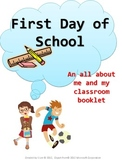 First Day of School Filler Activities