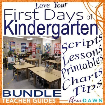 https://www.teacherspayteachers.com/Product/First-Days-of-Kindergarten-Kindergarten-Teachers-BUNDLE-1992434