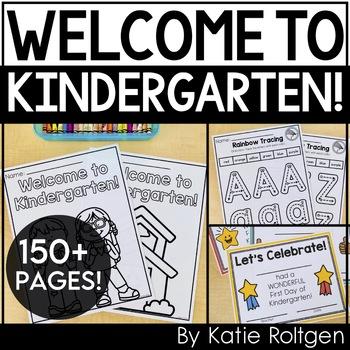 Beginning of the Year Kindergarten Activities