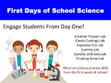 First Days of School:  Science Fun