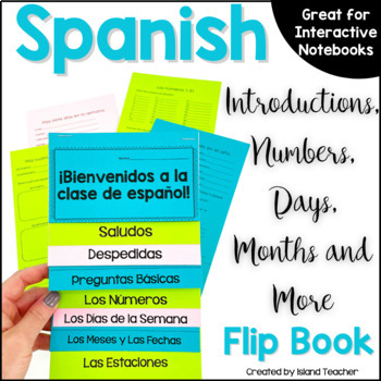 First Days of Spanish Interactive Flip Book