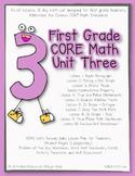 First Grade CORE Math Unit 3