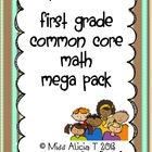 First Grade Common Core Math Mega Pack