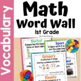 First Grade Common Core Math Vocabulary