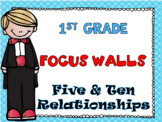 First Grade Envision Math Topic 3 Five and Ten Relationshi