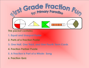 Fraction Fun Packet