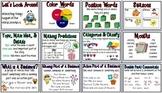 First Grade Houghton Mifflin Reading Series Focus Wall Set