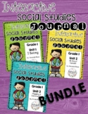 First Grade Interactive Social Studies Journal {Now Editable!}