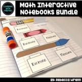 First Grade Math Interactive Notebook Growing Bundle