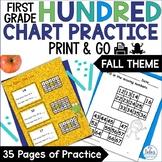Place Value {Frog Math} First Grade Math Hundred Chart