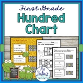 Place Value {Frog Math} First Grade Math Hundred Chart