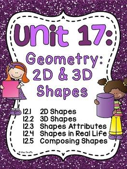 First Grade Math Unit 17