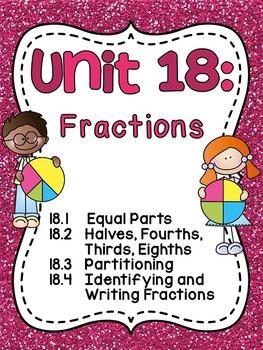 First Grade Math Unit 18