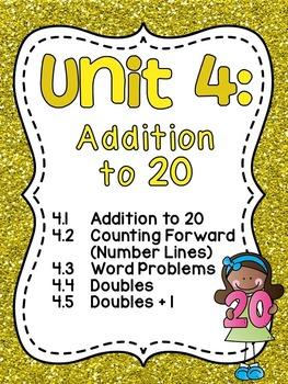 First Grade Math Unit 4