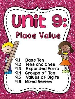 First Grade Math Unit 9