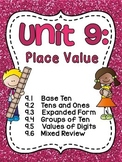 First Grade Math Unit 9