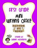 First Grade Mini Writing Office