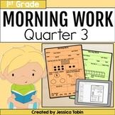 Morning Work for 1st Grade Common Core 3rd Quarter
