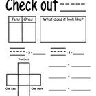 First Grade Place Value Calendar Chart