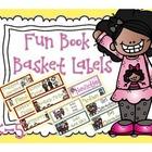 Reading Book Basket Labels for K-5