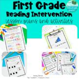 First Grade Reading Intervention Binder