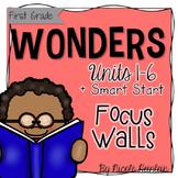 First Grade Reading Wonders Focus Wall {Mega BUNDLE}