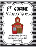 First Grade Report Card Assessments